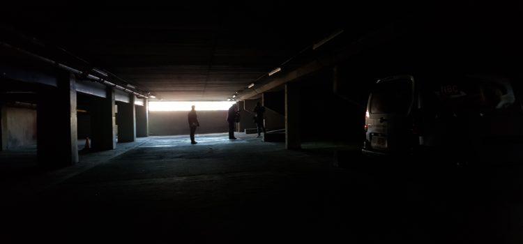 carpark silhouettes